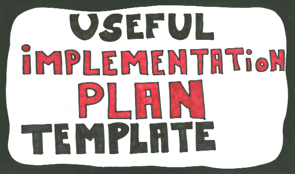implementation plan template